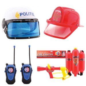 Ugunsdzēsēji un policija