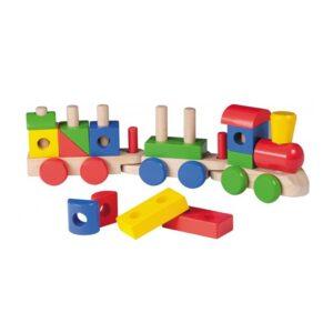 Joueco - Klucīšu un formu vilciens