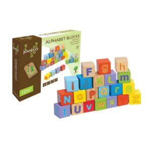 Joueco - Koka 30 alfabēta klucīši