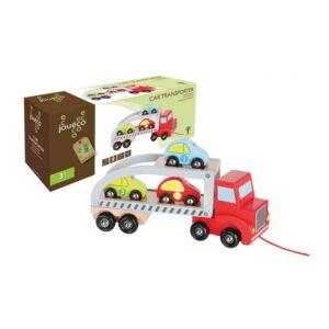 Joueco - Koka auto pārvadātājs