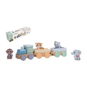Joueco - Vilciens ar dzīvniekiem Wildies Family