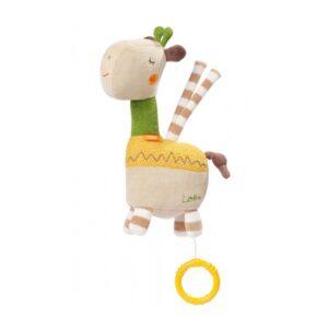 Fehn muzikālā rotaļlieta - Žirafe