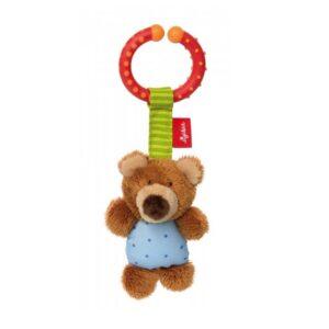 Sigikid mīksta rotaļlieta grabulītis - Lācis