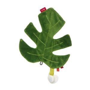 Sigikid Soft rustling toy - Leaf
