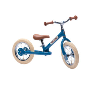 Trybike tērauda balansa ritenis – Vintage zils