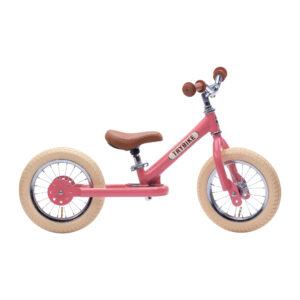 Trybike tērauda balansa ritenis - Vintage Rozā