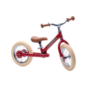 Trybike tērauda balansa ritenis - Vintage Sarkans