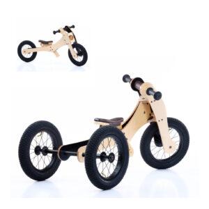 Trybike wood brown 4in1